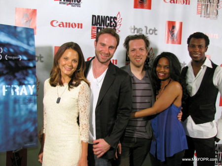 FRAY Movie Premiere shot on the red carpet of cast and crew